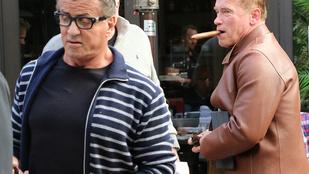 Schwarzenegger és Stallone vajon összevesztek?