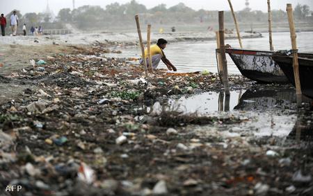 A Gangesz 2010-ben (Fotó: Diptendu Dutta)
