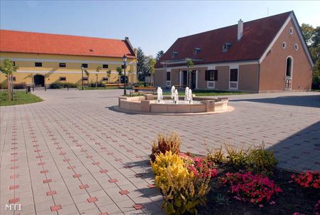 Bóly városközpontja (Fotó: Kálmándy Ferenc)