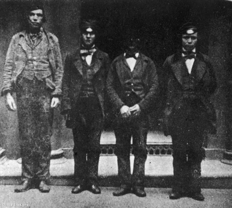 Eddig azt hitte, hogy a rendőrségnél csak manapság dívik a gyanúsítottak fotózása? Hát nem! Ez a négy jómadár, a lopással és zsebtolvajlással vádolt James Martin Lindsay, James Brown Cummings, Peter Hasson és John McRae például 1865 környékén Glasgow-ban lett megörökítve az utókor számára.