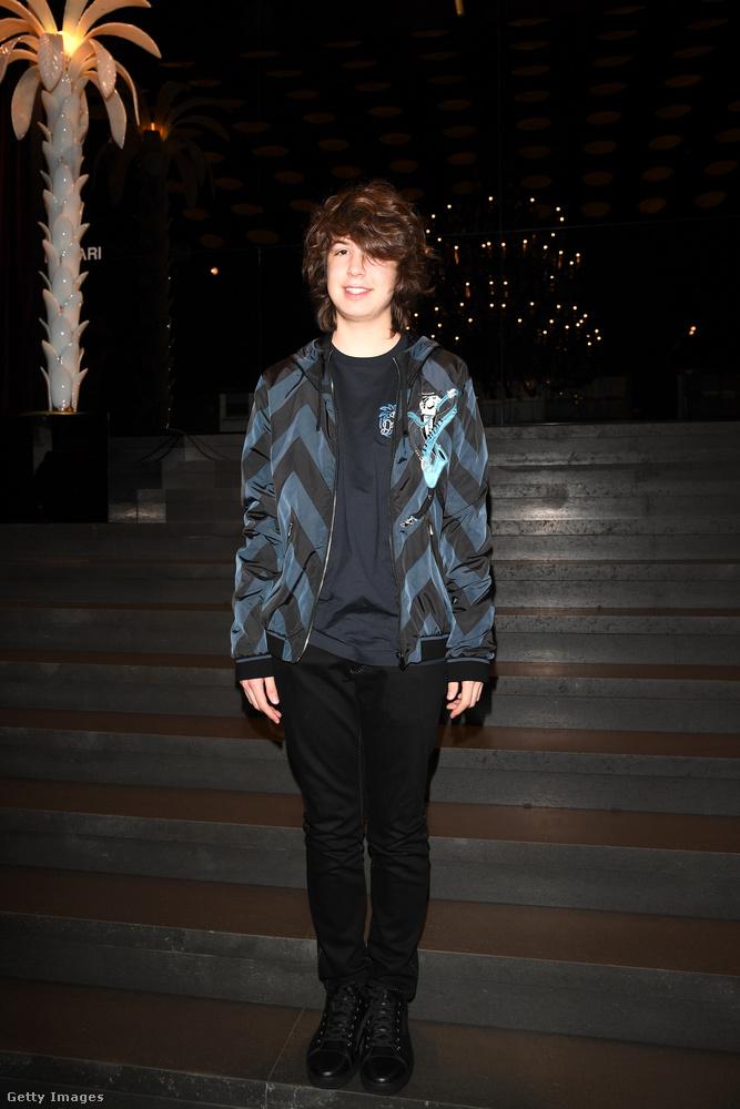 Lucas Maurice Morad Jagger egészen idén december 8-ig birtokolta a legfiatalabb Jagger-gyermek címet...