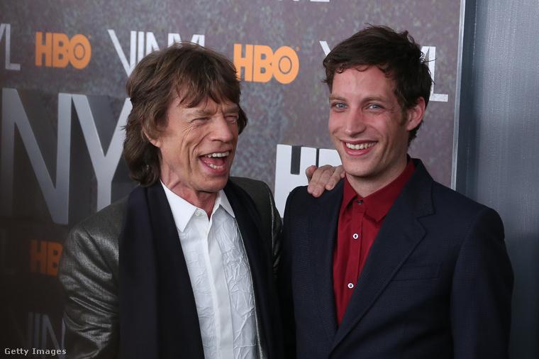 Szintén Jerry Hall az édesanyja James Jaggernek, aki idén lett 31 éves