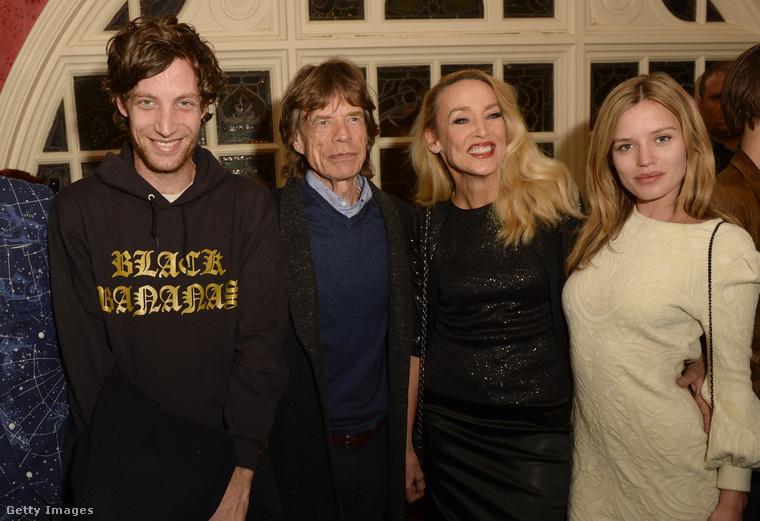 A The Rolling Stones énekesének összesen öt különböző anyától született nyolc gyermeke
