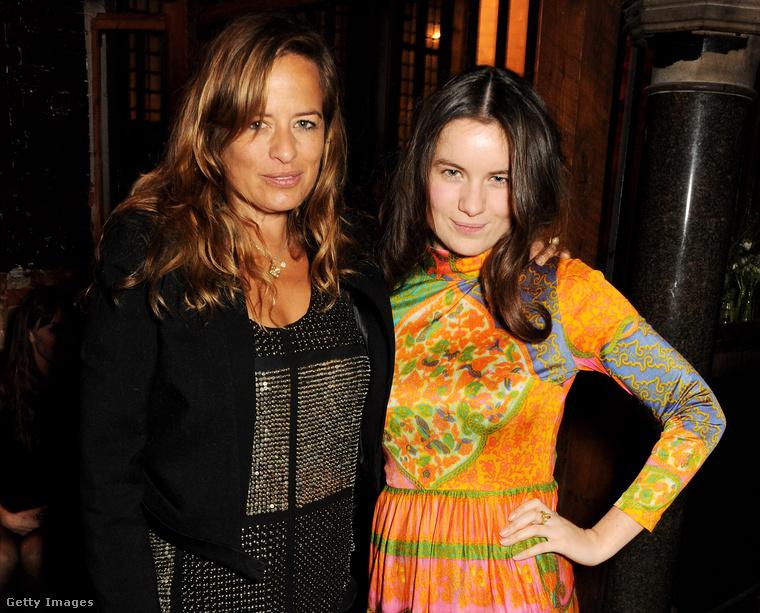 Jade Jagger és lánya, a 20 éves Amba