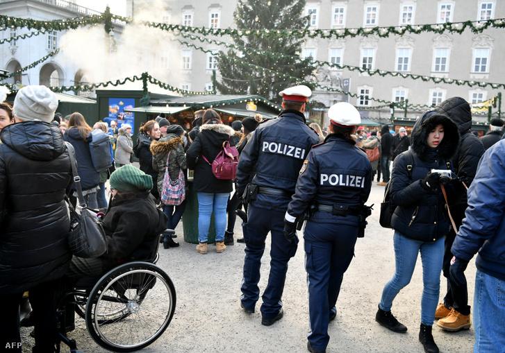 A salzburgi adventi vásár