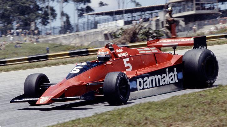 Niki Lauda egy Brabham BT48 - Alfa Romeóban 1979-ben