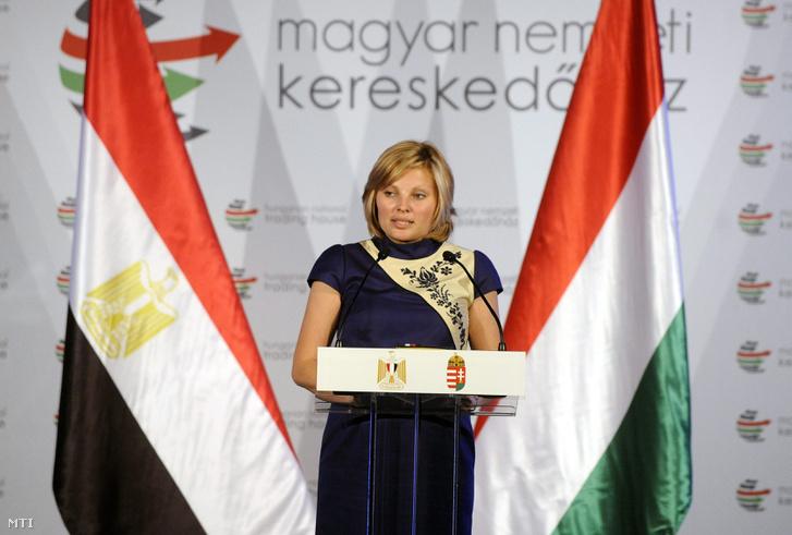 Ducsai-Oláh Zsanett, a Magyar nemzeti Kereskedőház vezérigazgatója