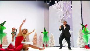 Heidi Klum elég nagyot zakózott az America's Got Talent adásában