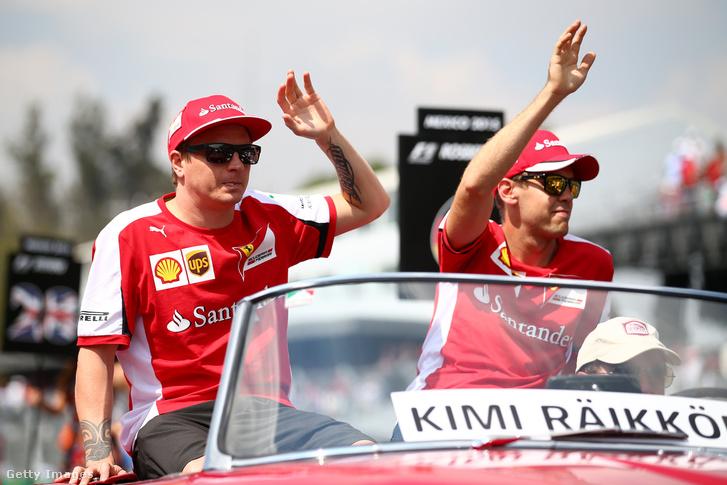 Vettel és Raikkönen