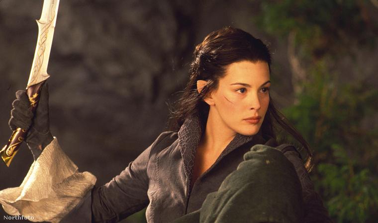 És ha már szóba került Aragorn, jöjjön a szerelme, a tündék úrnője is: Arwen.