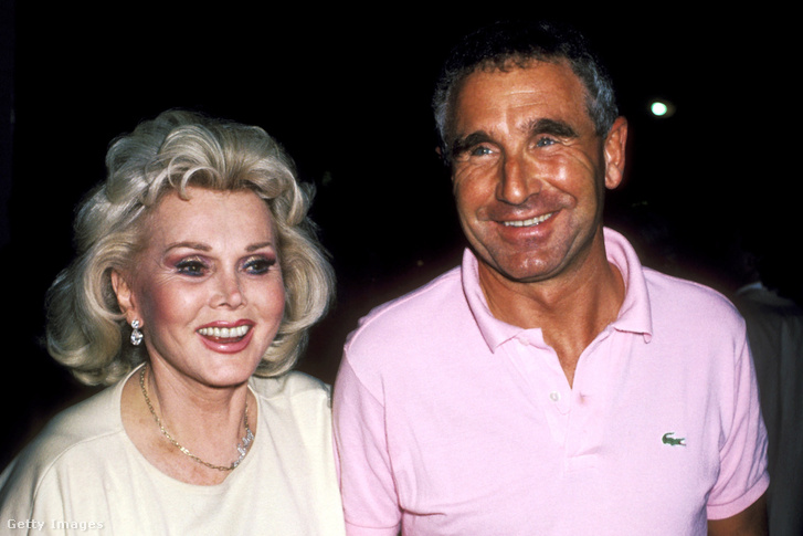 Gábor Zsazsa és férje, Frédéric von Anhalt 1986-ban