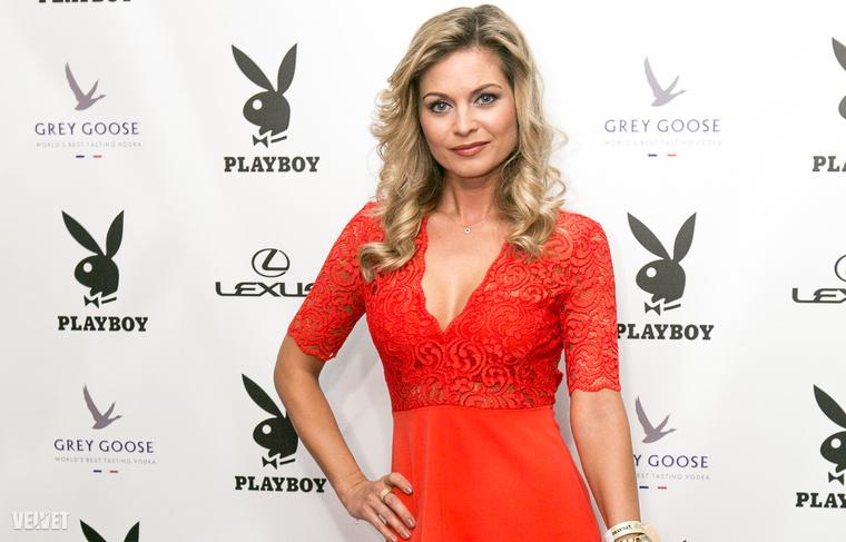 A harmadik pedig Bálizs Anett, ezzel a ruhával a Playboy partijáról.