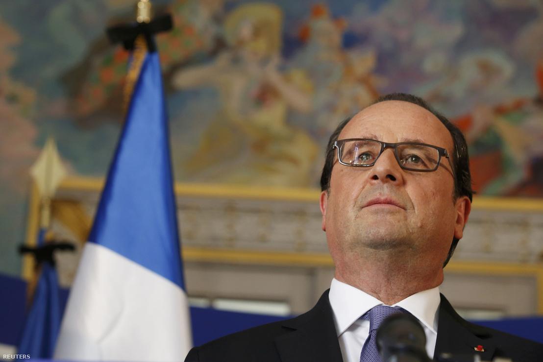 Francois Hollande Franciaország baloldali elnöke