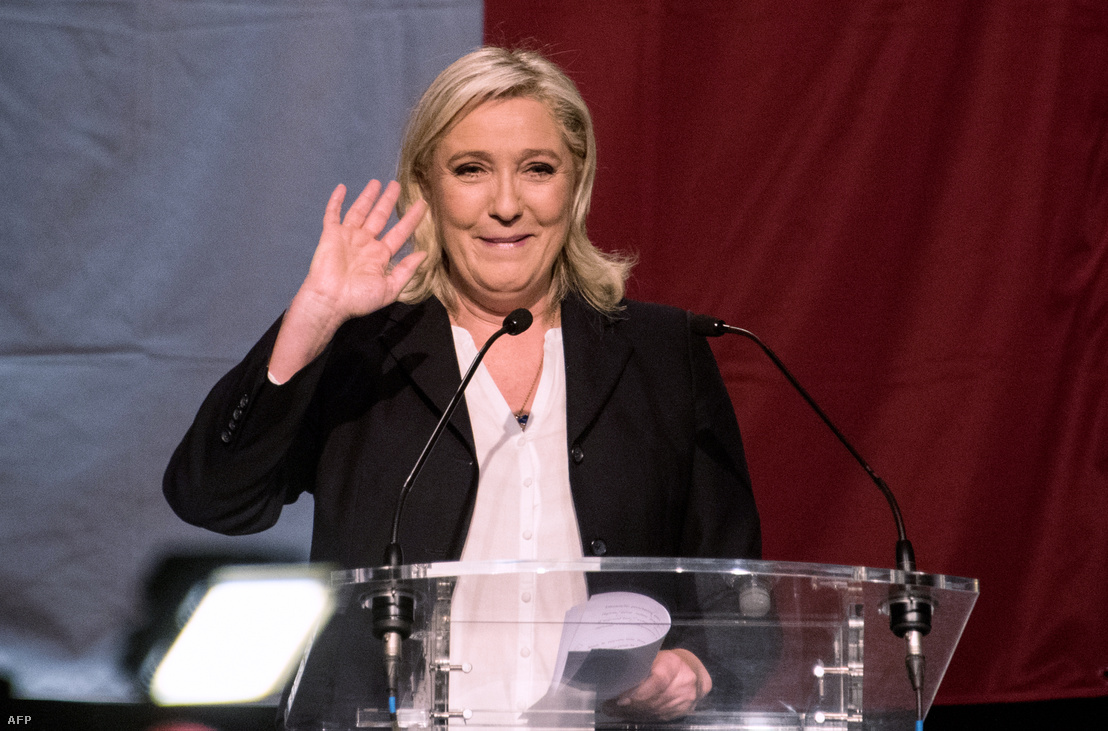 Marie LePen a francia szélsőjobboldali Nemzeti Front vezetője