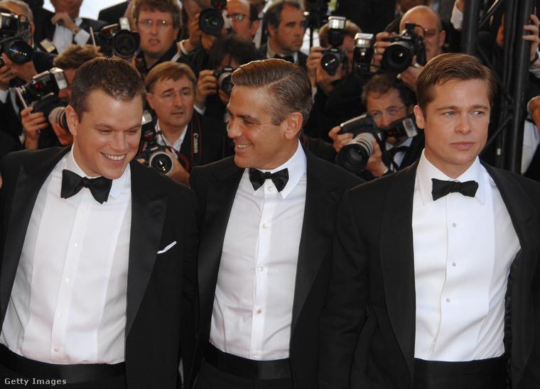27!Kerek 10 évvel fiatalabb, mint amikor a Cannes-i Filmfesztiválon hasonlóan jó képességű színésztársaival promózta az Ocean's Thirteen-t.