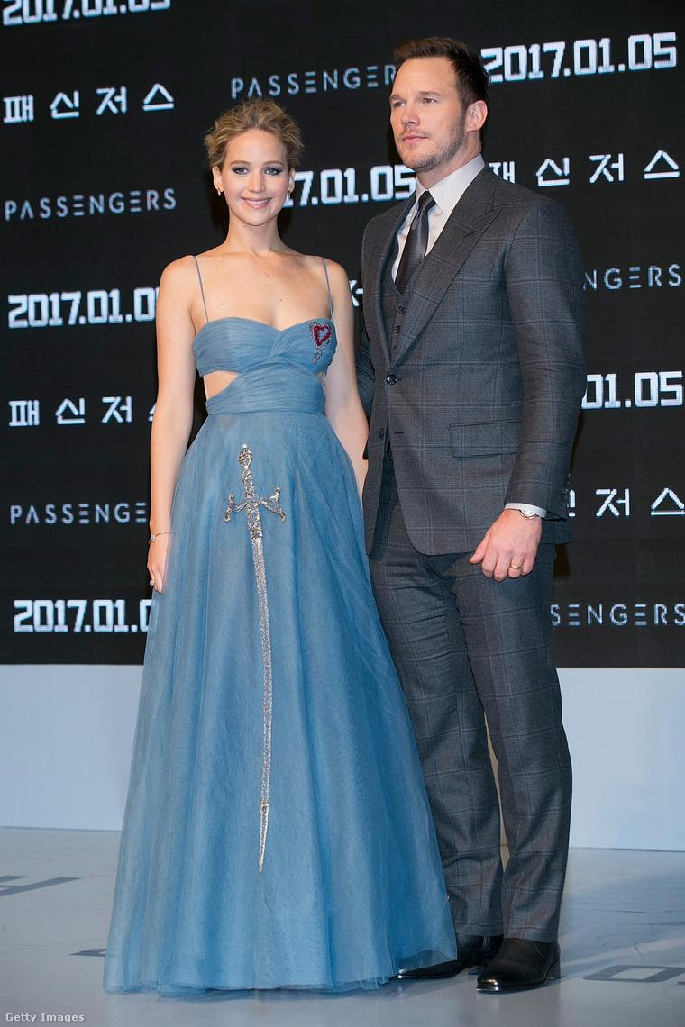 Jennifer Lawrence és Chris Pratt.