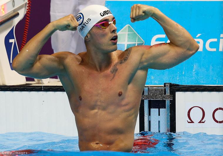 Bruno Fratus brazil úszó egy olyan versenyen, amit áprilisban azért rendeztek, hogy előre teszteljék a riói olimpiára felhúzott helyszínt.