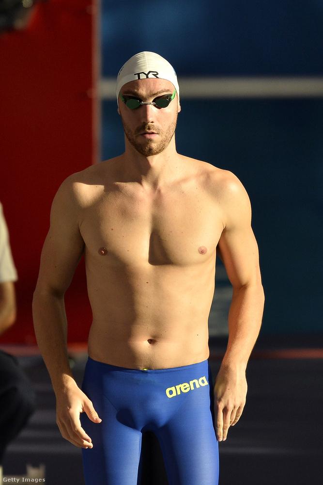 Megint egy úszó, ő Jeremy Stravius Franciaországból, aki augusztus 26-án, nem sokkal az olimpia vége után már úszott is megint.