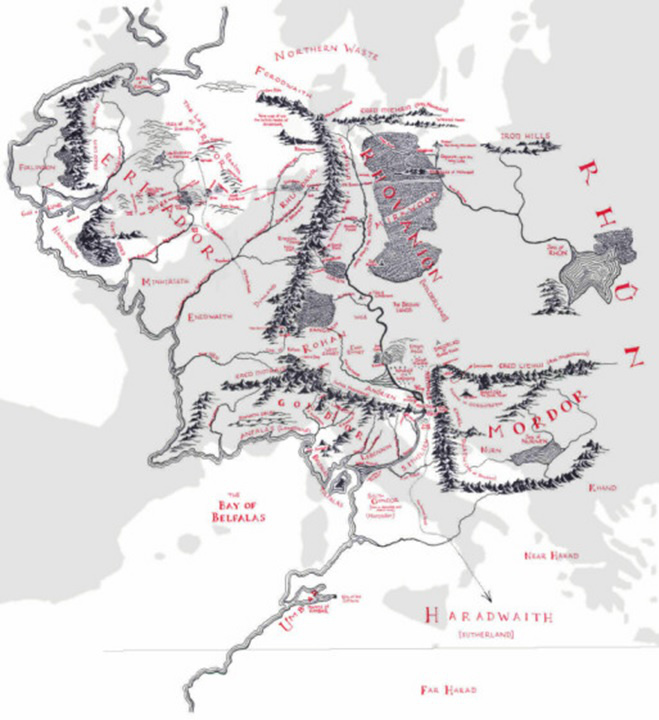 Középfölde Európában