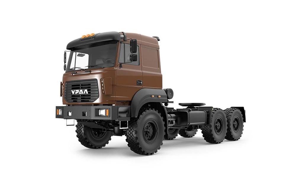 Az 1997-től gyártásban Ural 6301 nemrég új nevet (Ural-M) és új dizájnt is kapott.