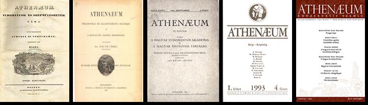 Az Athenaeum számai az alapítástól napjainkig