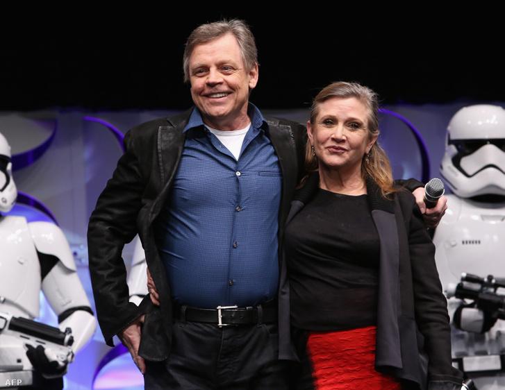 Mark Hamillel, aki Luke Skywalkert játszotta a Star Warsban