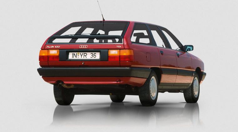 Elsőként az Audi 100 kapta meg a 2,5 TDI-t