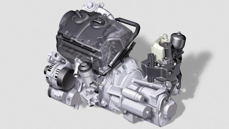 Az 1,4 TDI-hez hasonlóan az 1,2-es is az Audi A2-ben mutatkozott be