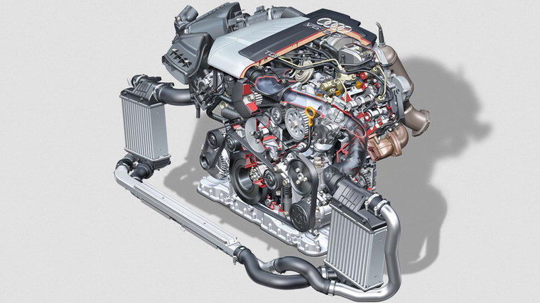 Ehhez a motorcsaládhoz tartozott a nem sokkal később bemutatott 2,7 TDI is, amely szintén hathengeres volt