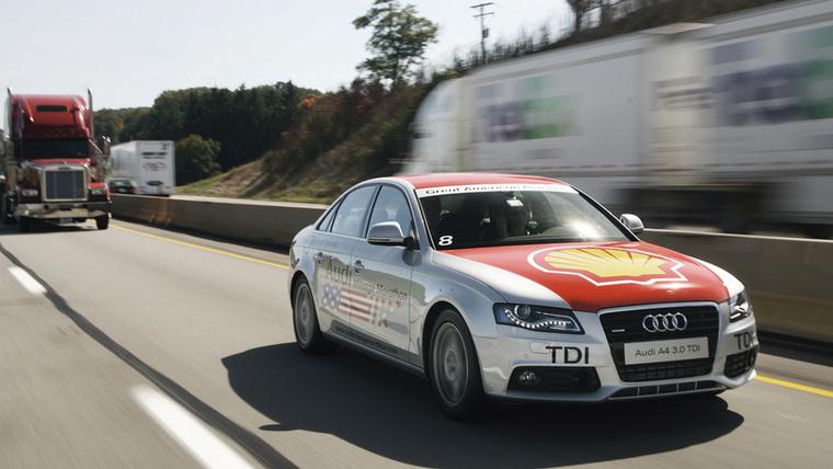 A 2008-as labdarúgó Európa-bajnokság idején a két rendező ország, Ausztria és Svájc egy-egy nagyvárosa között hirdetett fogyasztási versenyt az Audi