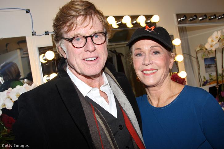 Redford és Fonda 2009-ben