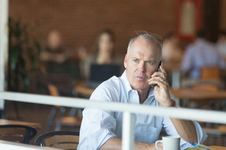 Michael Keaton a Spotlight - Egy nyomozás részletei c. filmben
