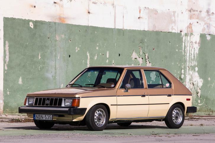 Ismerős a forma: az amerikai Plymouth Horizon közeli rokona az európai Talbot Horizonnak