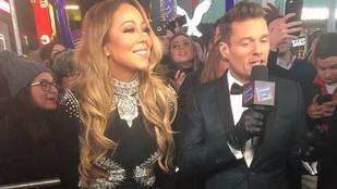 Mariah Carey szilveszteri fellépése ennél kínosabbra nem is sikerülhetett volna