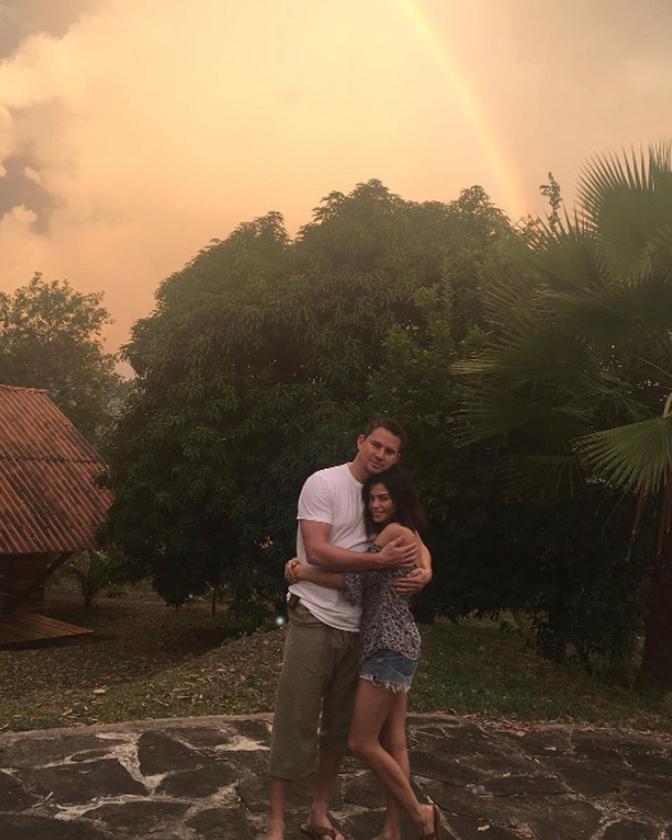 Channing Tatumék az Amazonas környékén üdültek és jótékonykodtak