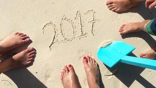Így kívántak boldog új esztendőt a celebek a közösségi oldalaikon