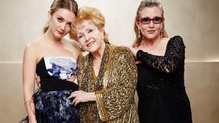 Carrie Fisher lánya megható üzenetben búcsúzott szeretteitől