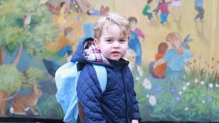 Ebbe az iskolába fog járni György herceg