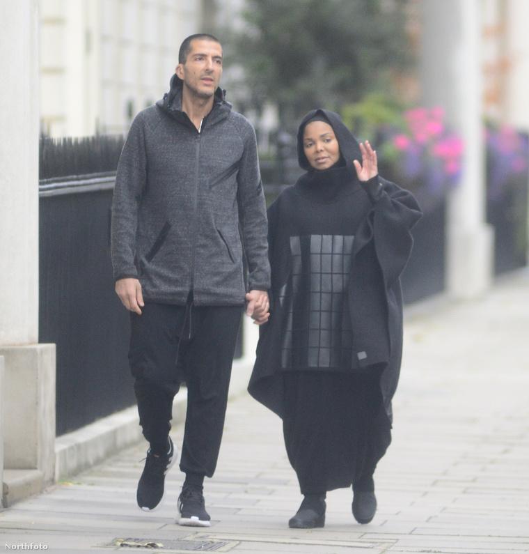 Az énekesnő és férje, még októberben.