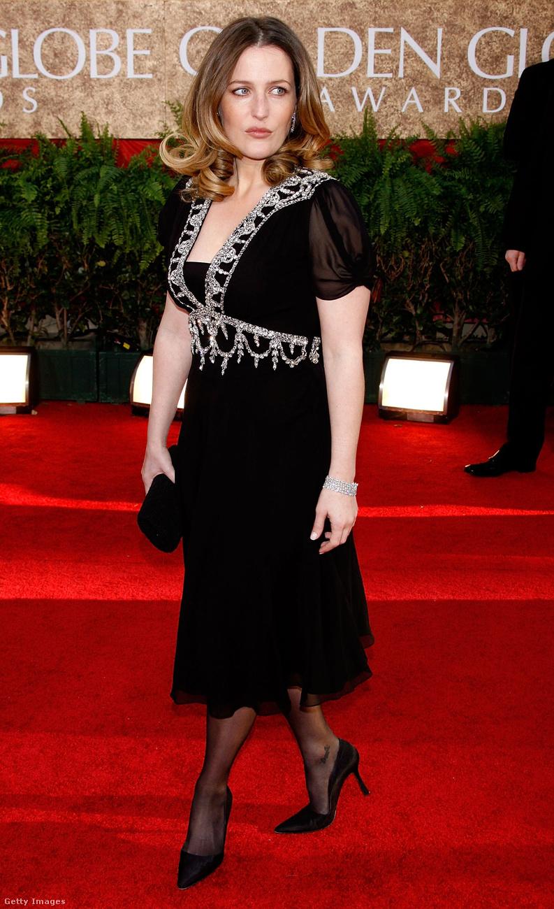 Gillian Anderson akkor ilyen nagy kedvvel gálázott.