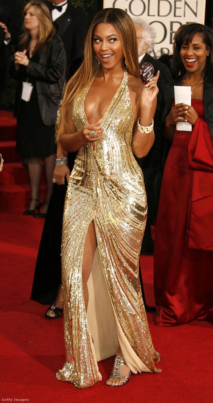 Beyoncé már akkor is tudta, hogy hogyan kell beragyogni a vörös szőnyeget.