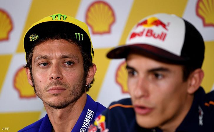 Rossi és Marquez: fair csatákon kívül más nem történt köztük tavaly