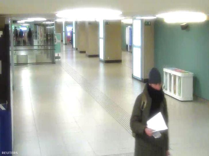 Amri a brüsszeli vasútállomáson