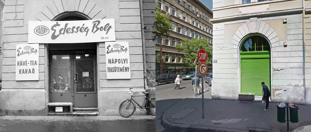 Megfejtés: Budapest VII. Péterfy Sándor utca 22., balra a Bethlen Gábor utca sarok.