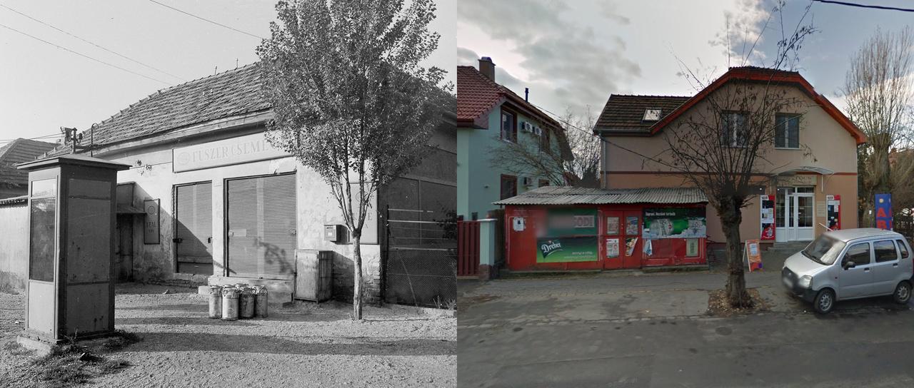 Megfejtés: Budapest XIX. Pozsony utca 37., Ungvár utca sarok.