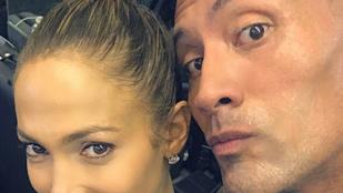 Jennifer Lopez pontosan tudja, kivel érdemes leizzadni