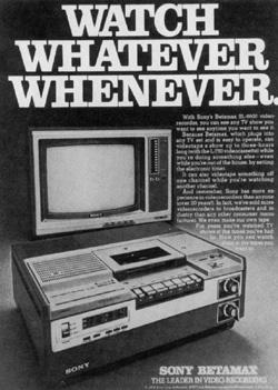 Betamax. A pornóipar ölte meg?