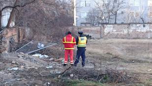 Két ember halálra fagyott Budapesten egy üres telken