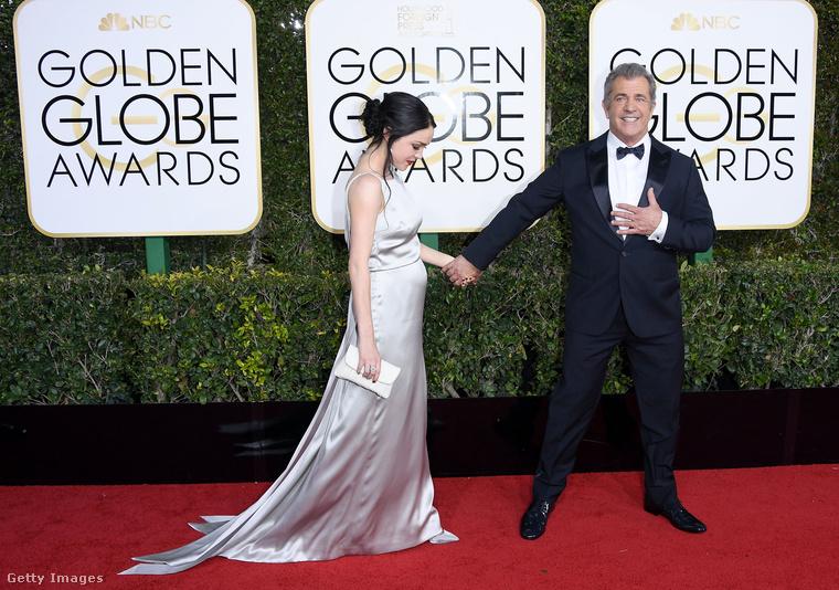 Mel Gibson és Ashley Cuasto