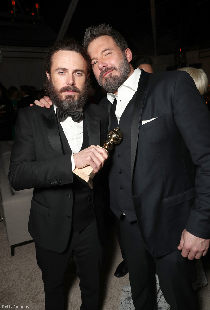 Ben Affleck joggal lehetett büszke testvérére, Casey Affleckre, aki olyan nevek elől vitte el a Golden Globe-ot, mint Viggo Mortensen és Denzel Washington.